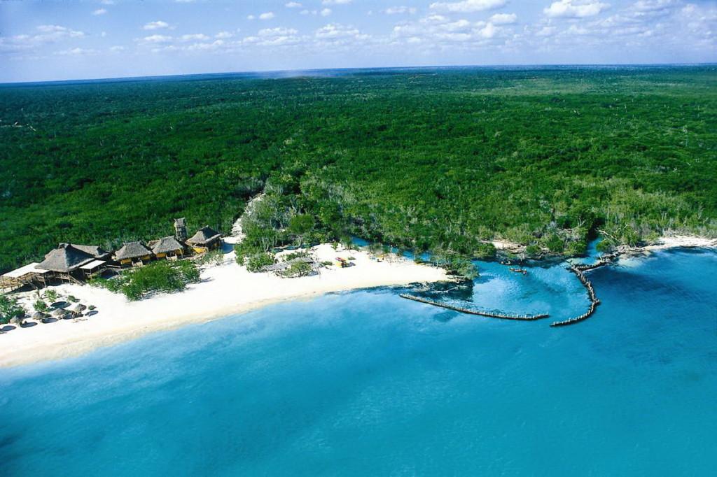 Отель на берегу Ривьера Майя