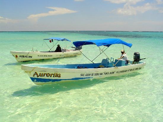 Прогулочные лодки в Сиан Каане