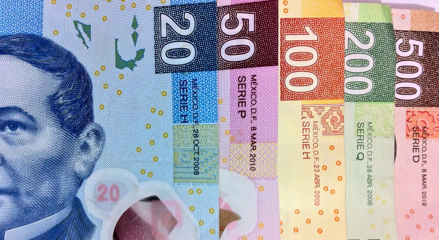 Мексиканский денежный ряд