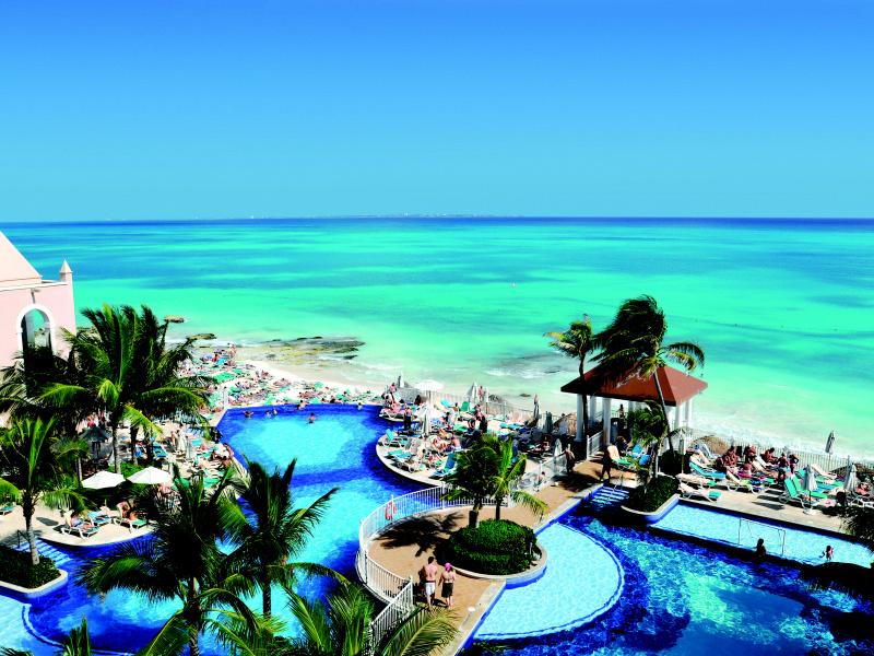Отели в Мексике. Риу Канкун