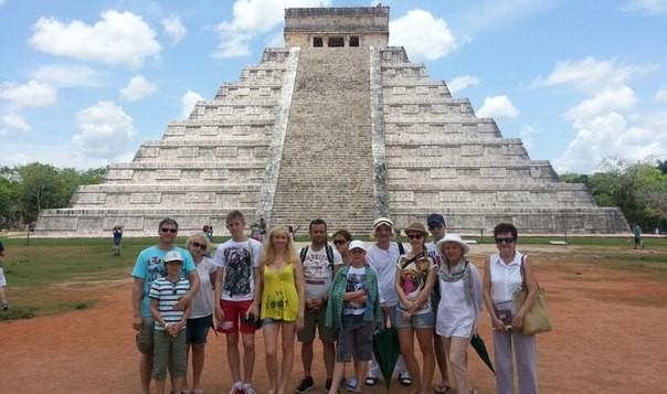 Спасибо Виктории Руссо в Мексике!