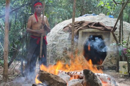Шаман темаскаль угли баня