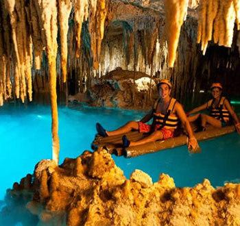 Эксплор пещеры рафтинг