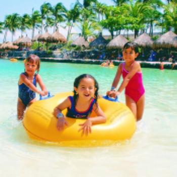 Дети Шкарет пляж