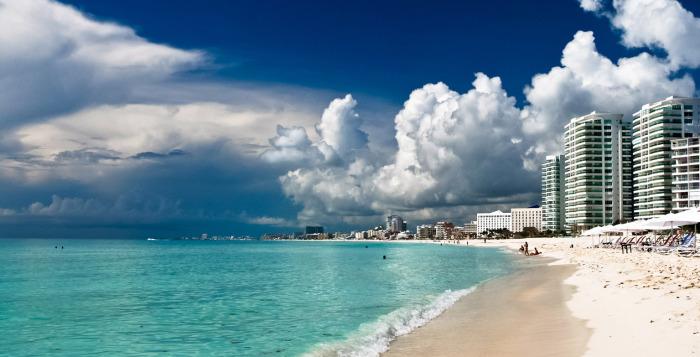 Какой океан и море в Мексике