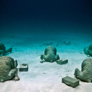 Подводный музей Канкуна