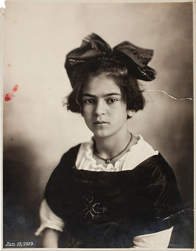 Фрида Кало в детстве