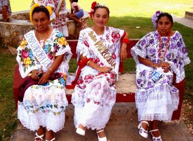Национальный наряд. Юкатан