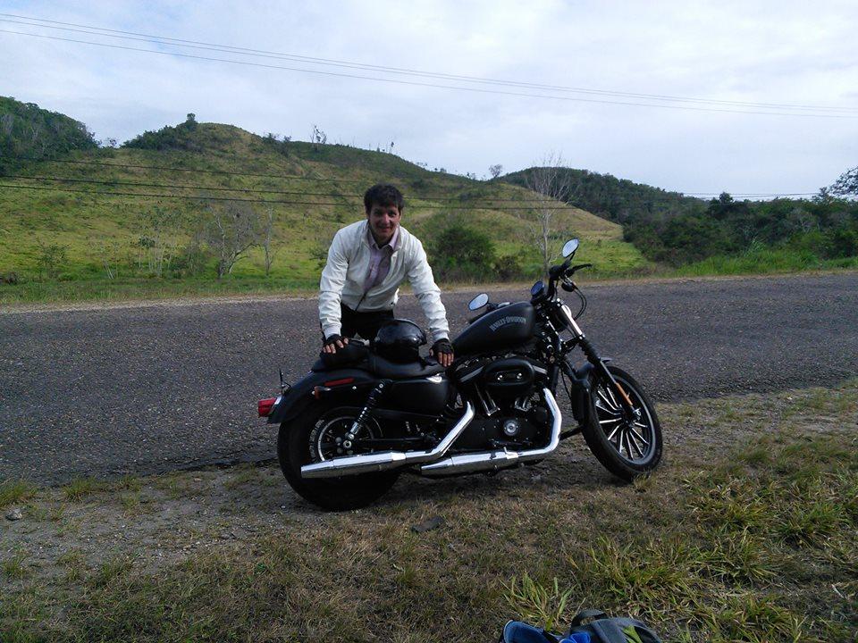 Белиз на мотоцикле. Путешествие из Мексики