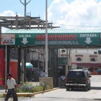 Граница Белиза. На мотоцикле по Мексике