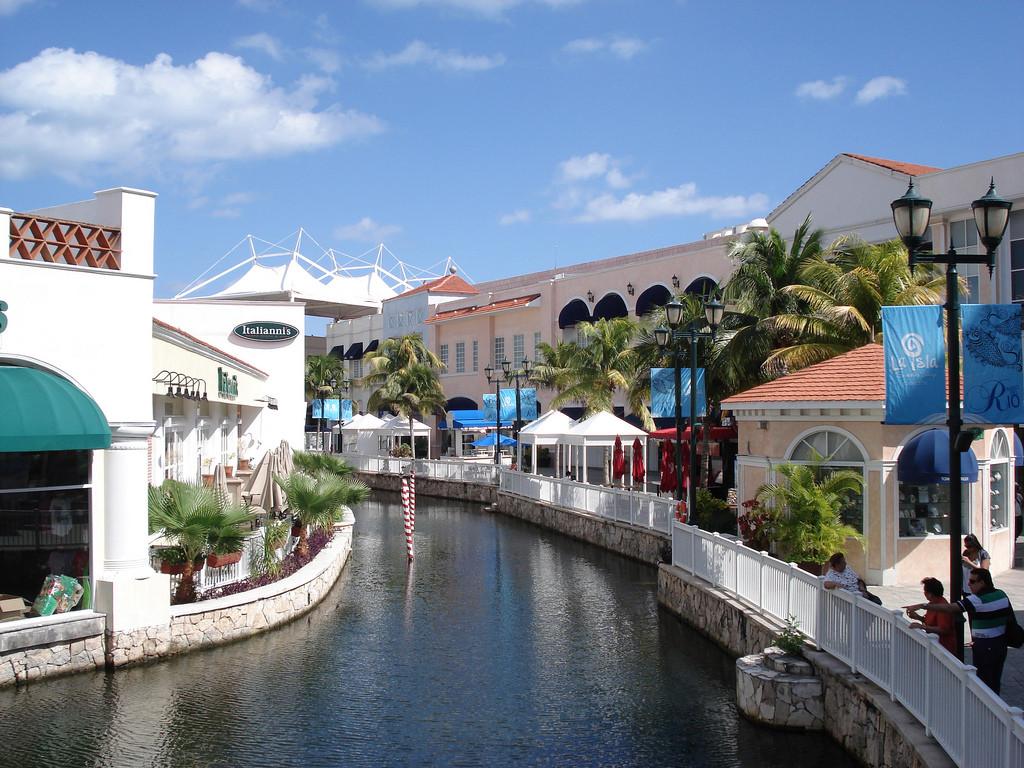 Каналы в Ла Исла Шопинг Мол
