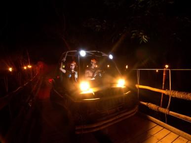 Вечерние приключения в Эксплоре на машинках-амфибиях. Мексика.