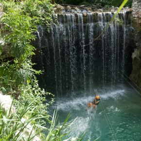 Сквозь водопады