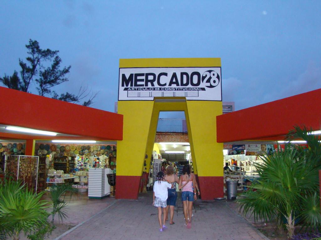Меркадо 28. Рынок сувениров в Канкуне