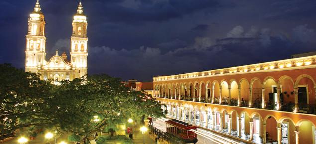 Исторический центр Франциско де Кампече. Мексика