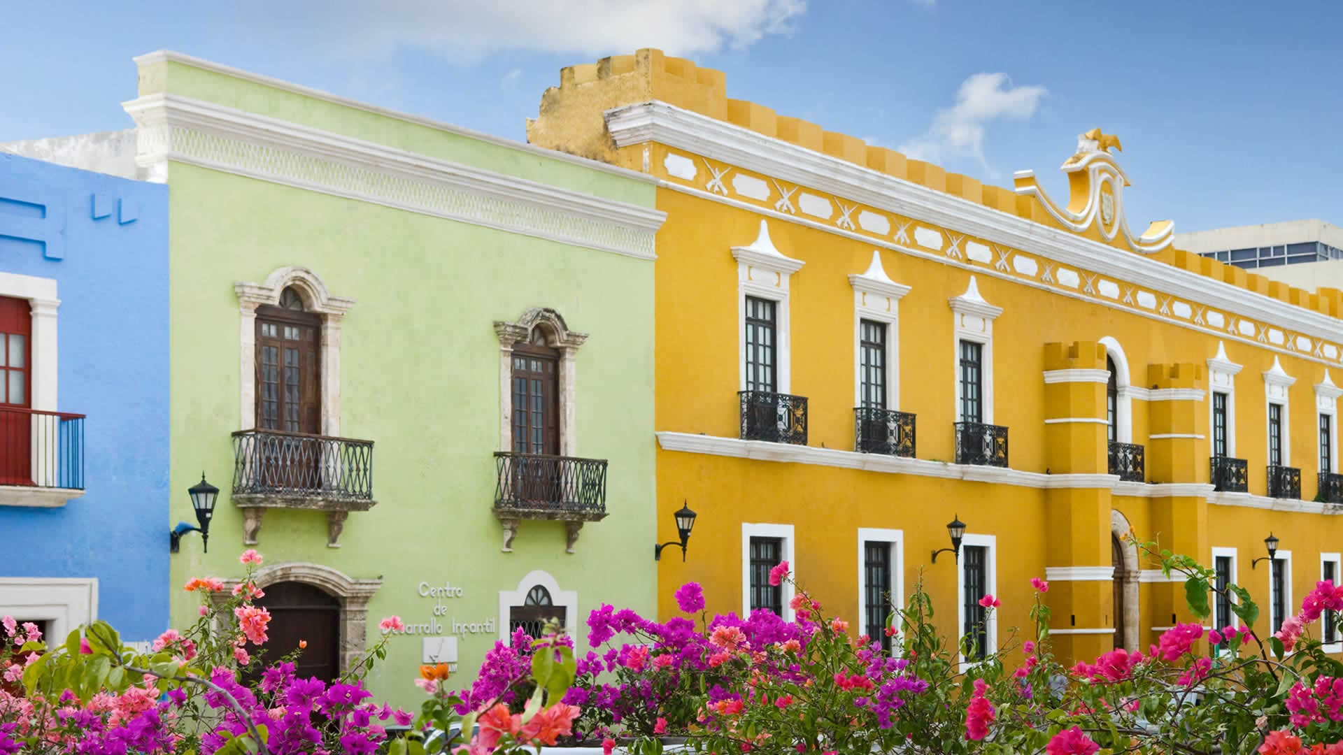 Кампече. Достопримечательности Мексики