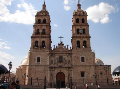 Кафедральный собор в Дуранго. Мексика