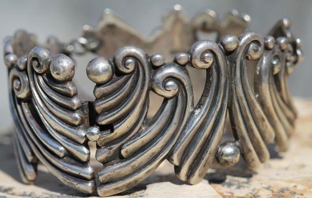 Мексиканские украшения из серебра