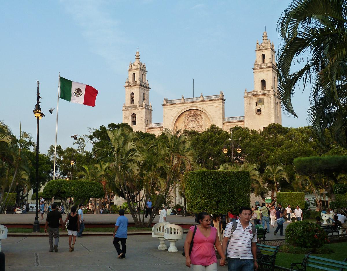 Мерида. Достопримечательности Мексики. Юкатан
