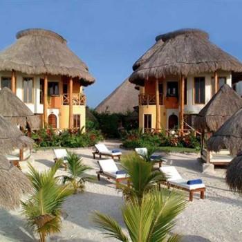 Отель в традиционном мексиканском стиле на острове Хольбош