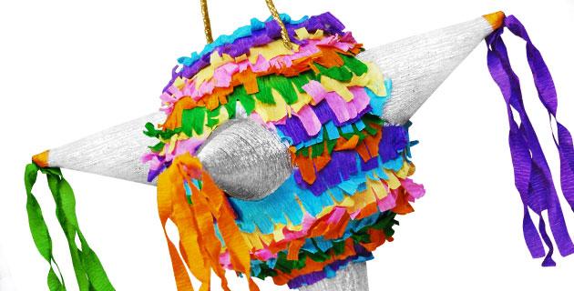 Пиньята - славное мексиканское развлечение для детей