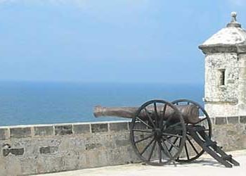 Пушка в крепости Кампече