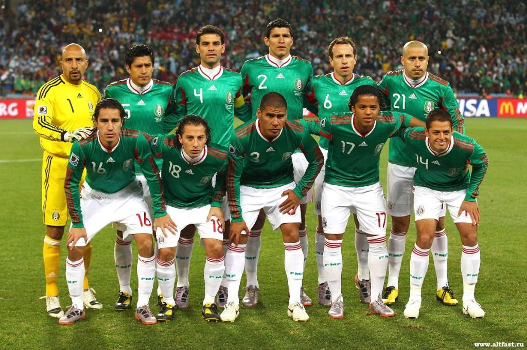 Сборная Мексики по футболу. 2014