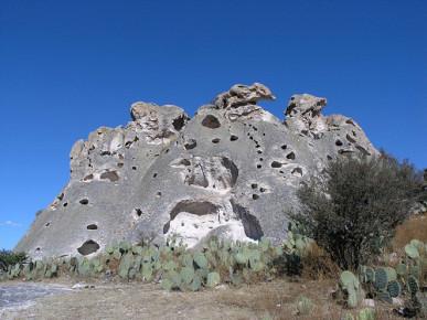 Туфовые пещеры в Дуранго