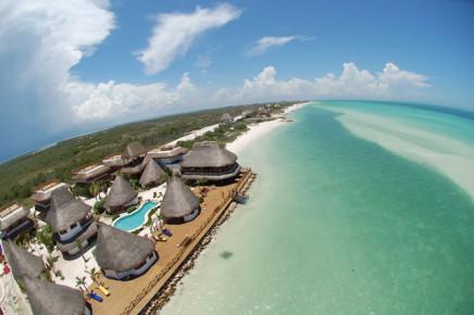 Удивительный красоты отель на острове Хольбош