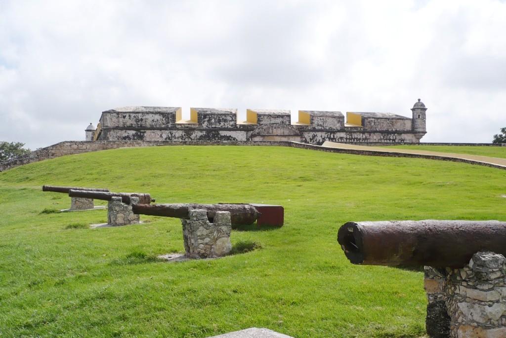 Форт Сан Хосе де Кампече. Мексика