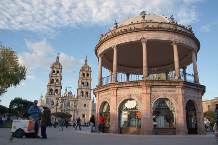 Центральная площадь Дуранго. Мекска
