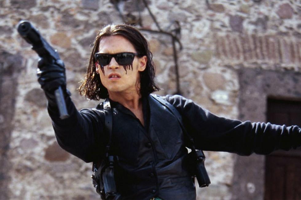 Джони Депп с вырезанными глазами. Однажды в Мексике. 2003. Кино о Мексике