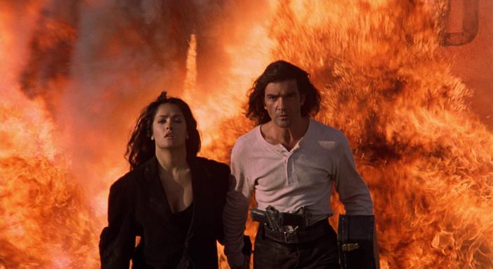 Кадры из фильма Отчаянный. 1995 год