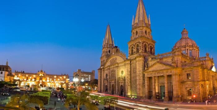 Достопримечательности города Мехико. Кафедральный собор в Мехико. Мехико - столица Мексики