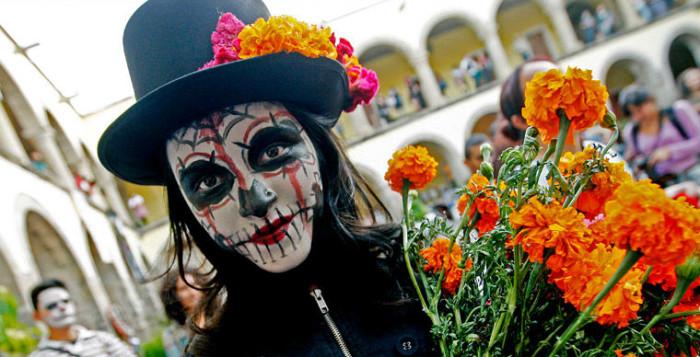 Красавица покойница в день мертвецов. Диа де лос Муэртос Мексика