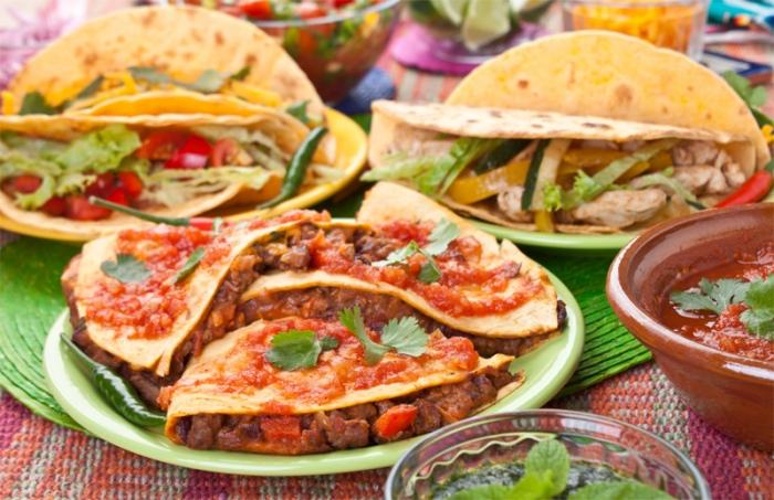 Мексиканская кухня - сочетание пищевых культур Америки и Европы