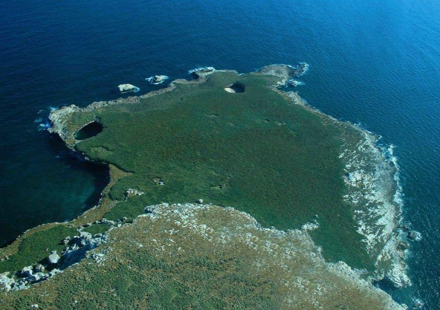 Острова Мариетас в Пуэрто Вальярта в Мексике