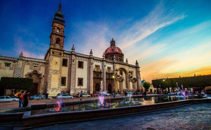 Сантьяго-де-Керетаро. Мексика