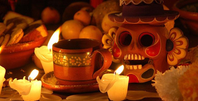 Свечки и лампадка ко днб смерти