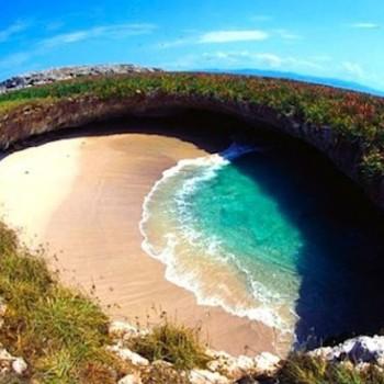 Скрытый пляж. Пляж Любви в Мексике