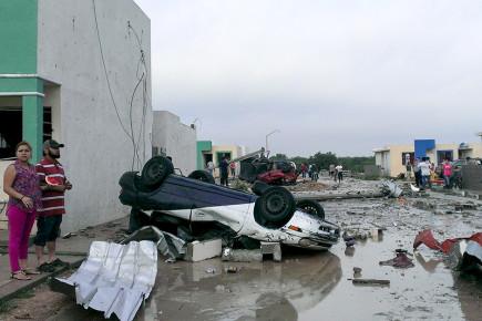Торнадо и ураганы в Мексике