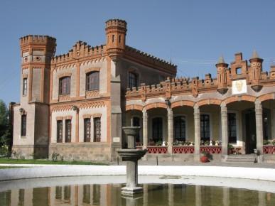 Асьенда - старинные дома для путников в Новой Испании или загородные дома новых мексиканских богачей. Уамантла. Мексика