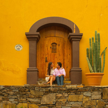 Влюбленная пара. Нуэво Леон, Мексика