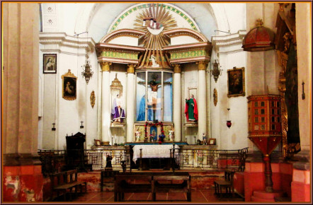 Капелла Весино - храм внутри