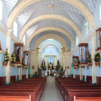Храм Сан Николас де Толентино - типичный католический храм на западе Мексики