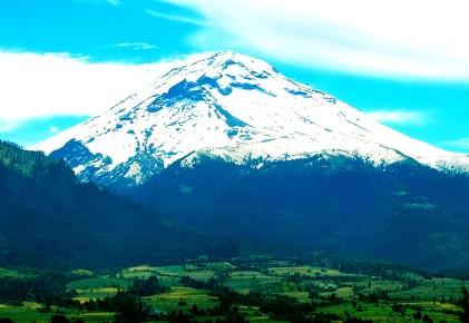 Вулкан Попокатепетль, Мексика