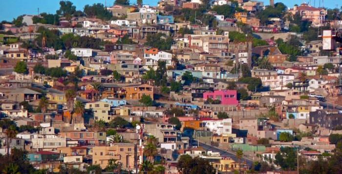Город Тихуана. Мексика