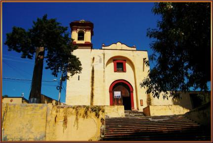 Средневековая церковь Капелла Весино в Тласкале