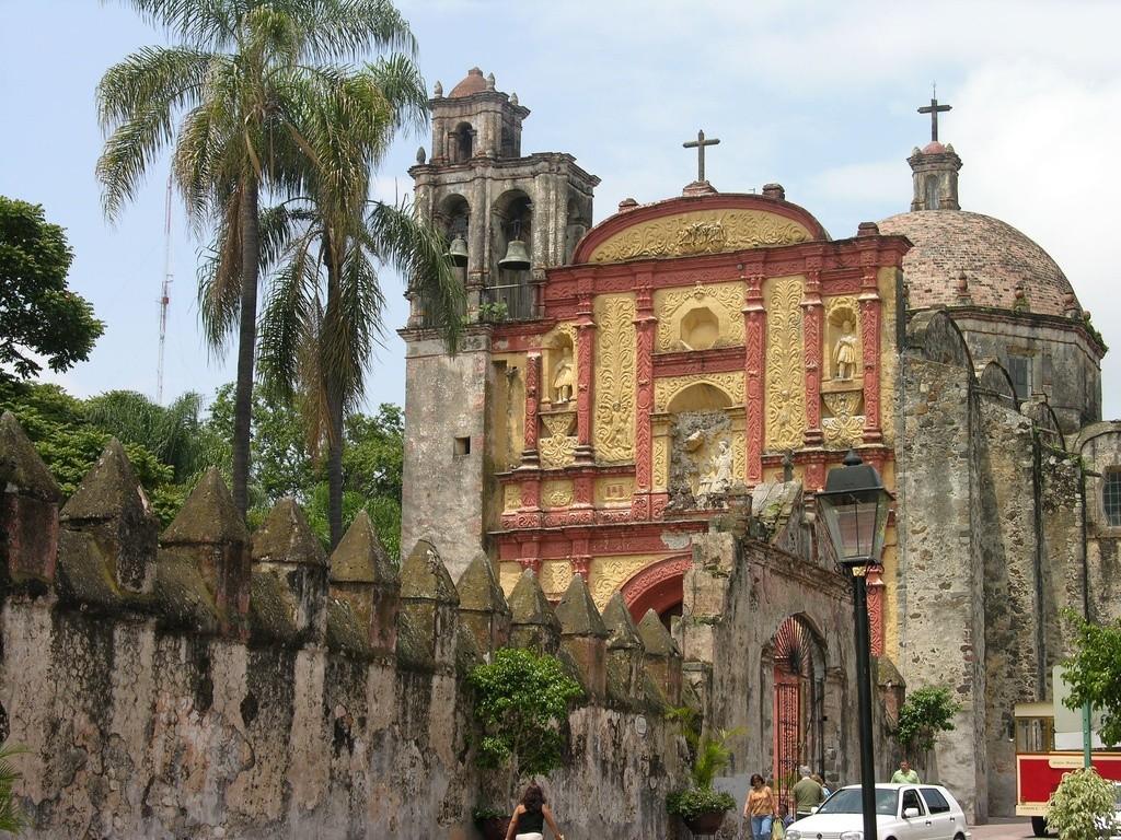 Кафедральный собор в Куэрнавака, Морелос, Мексика
