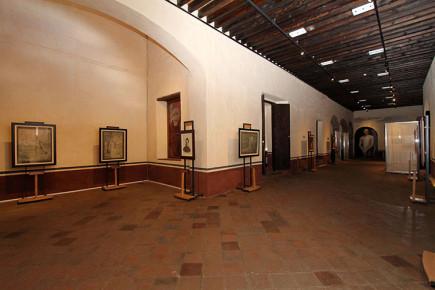 Залы в музее истории Тласкалы иллюстрируют быт и устои местного населения доколумбовой эпохи